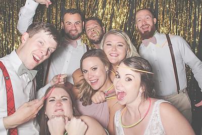 9-25-21 Newnan The Barn at Oak Manor Photo Booth - Jessica & Daniel's Wedding - Robot Booth
