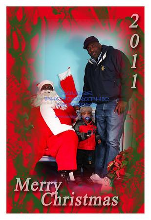 WVON Santa @ Bronzeville Childrens Museum 12-10-11