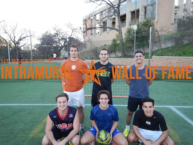 Spring 2016 3v3 Soccer Men's A Champion Bye Week FC