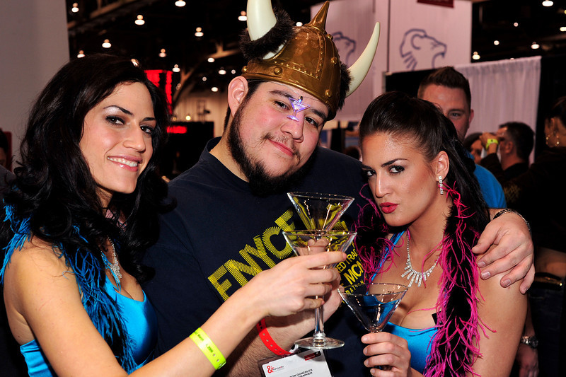 Photographs of IS Vodka Booth and activity for Nightclub and Bar Show at the Las Vegas Convention Center on March 4, 2009, day 2 of show.