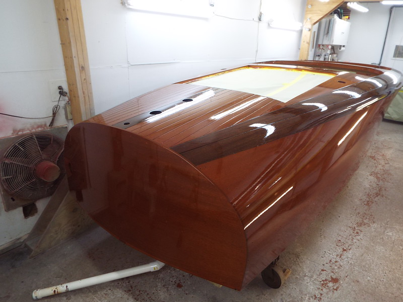 Rear starboard view coat number six.