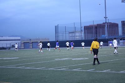 Guys Soccer Vs. University High 11.28.11