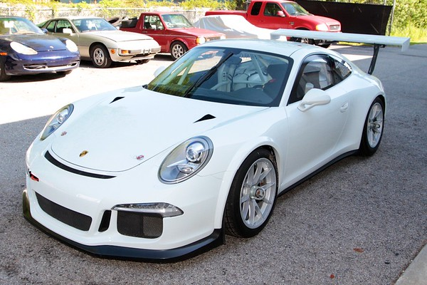 SOLD: 2015 Porsche 991 GT3 Cup For Sale