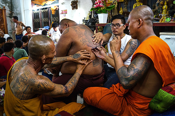 Blessed By A Monk: My Magic Sak Yant Tattoo