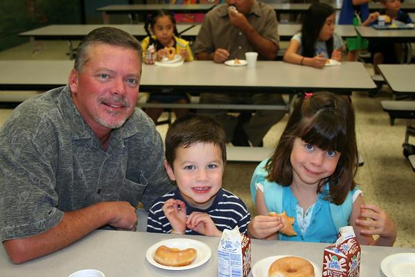 Donuts with Dudes ECP & Kindergarten