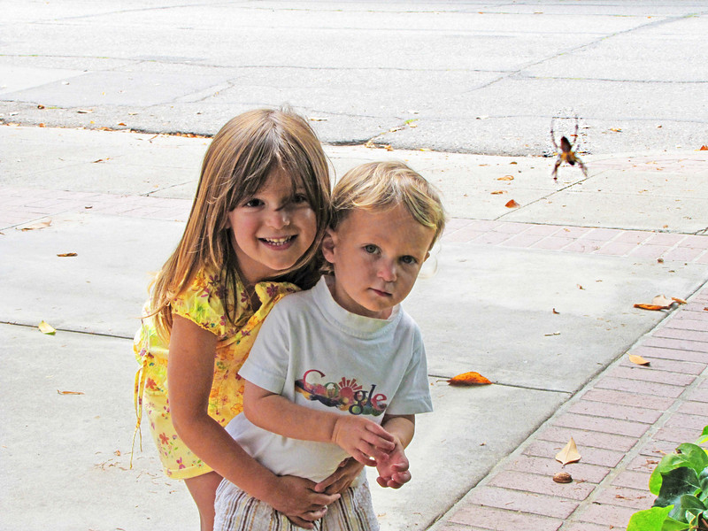 01-Little Miss Muffet, Karl, and the spider of Forest Avenue