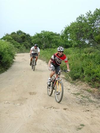 Great Hummock Pond Dirt & Mountain Bike Race -- 22 July 2000