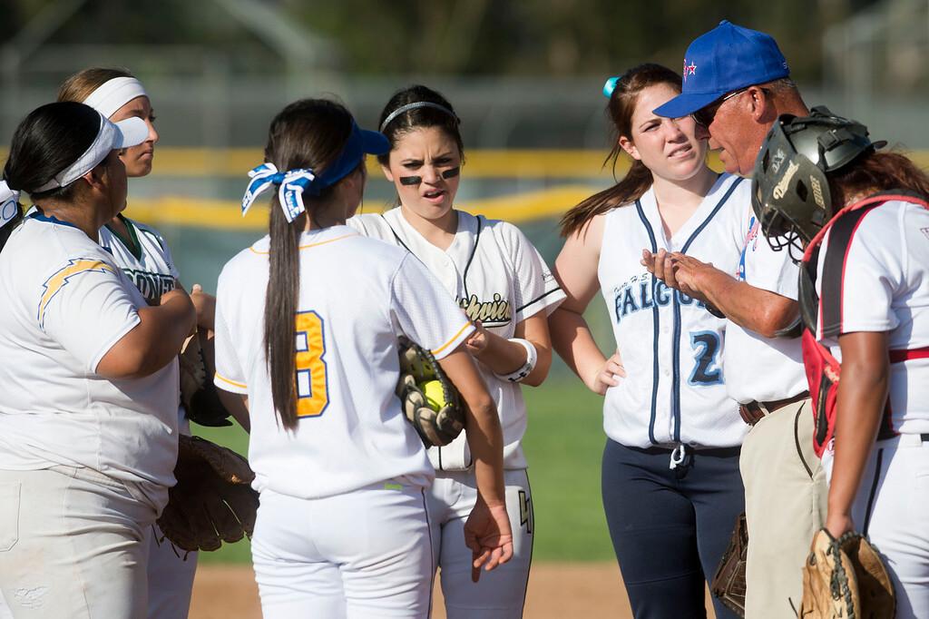 . San Gabriel Valley all-star softball game at Diamond Bar High School on Monday, June 3, 2013. South team won 10-5. (Staff photo by Watchara Phomicinda/ Los Angeles Media News Group)
