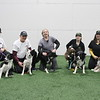 Power Tripp get together at the Flyball tournament