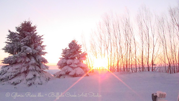 the first sunset of 2011