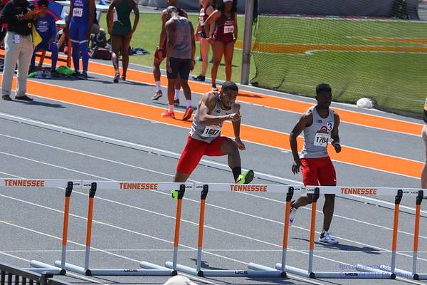 2018 Tennessee Relays -- Women's and Men's 400M Hurdles