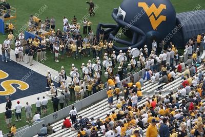 WVU vs Cincinnati - Pregame Formations - 9/13/03