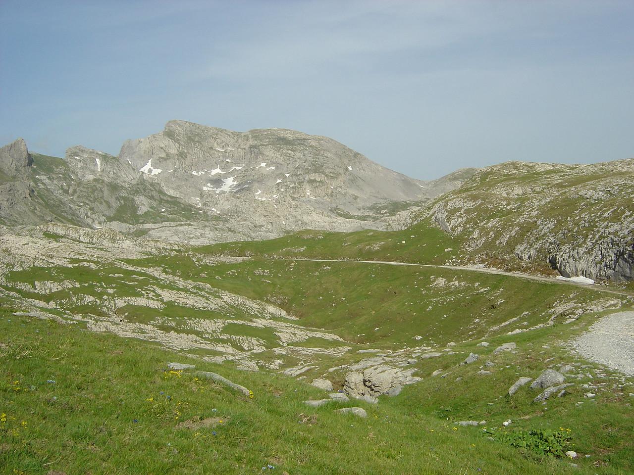 Le Marguerais, gezien van aan Col des Seigneurs richting noord