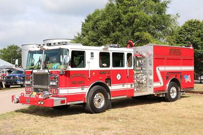 North Carolina Transportation Annual Fire Truck Festival