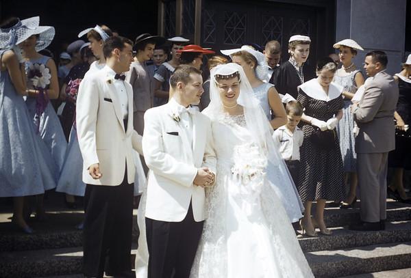 1957 - Jack & Nancy Wedding