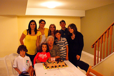 Nonna Elena's 80th Birthday