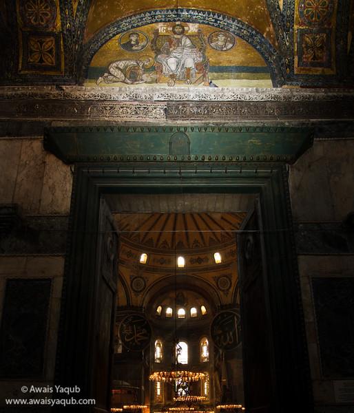 Grand Entrance of Hagia Sophia!