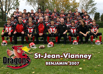 Dragons CSJV 2007 - Benjamin Football