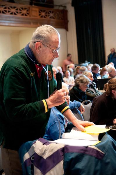 Hartland Town Meeting, 2013
