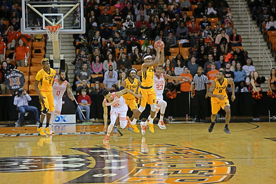 2017 Mercer vs. ETSU, Mens Basketball