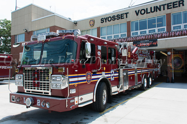 Syosset Tower Ladder 582 Dedication & Wetdown 07/30/2016