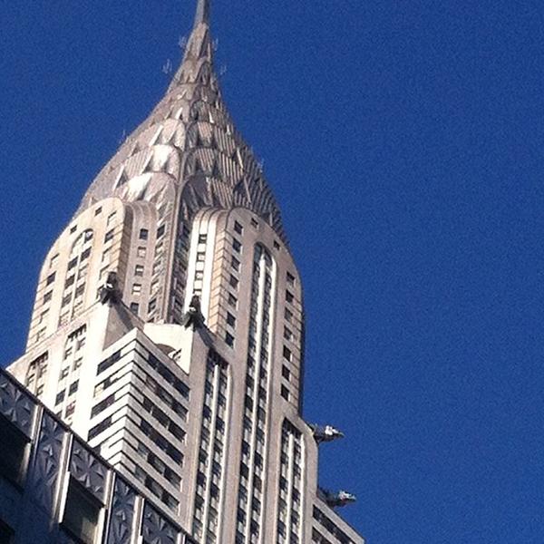 The #ChryslerBuilding is always my favorite in the #Manhattan skyline. #nofilter