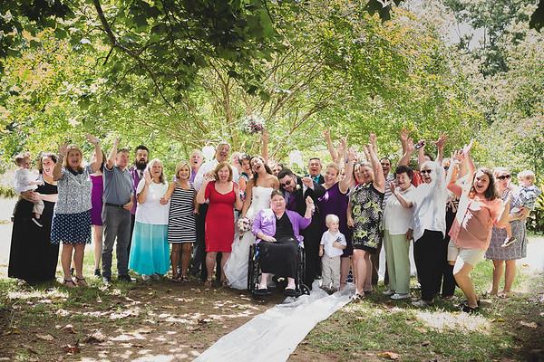 Wedding:  Christina & BJ (Winder, GA)