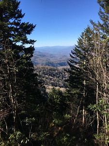 Mountains to Sea, from Soco Gap to Waterrock Knob