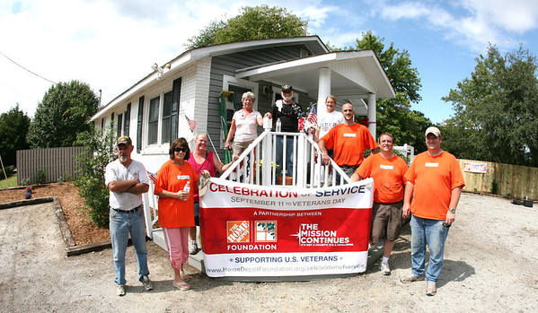 Home Depot at Veterans Welcome Center