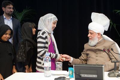 Huzoor Meets with Arab Jamaat Members June 14, 2014