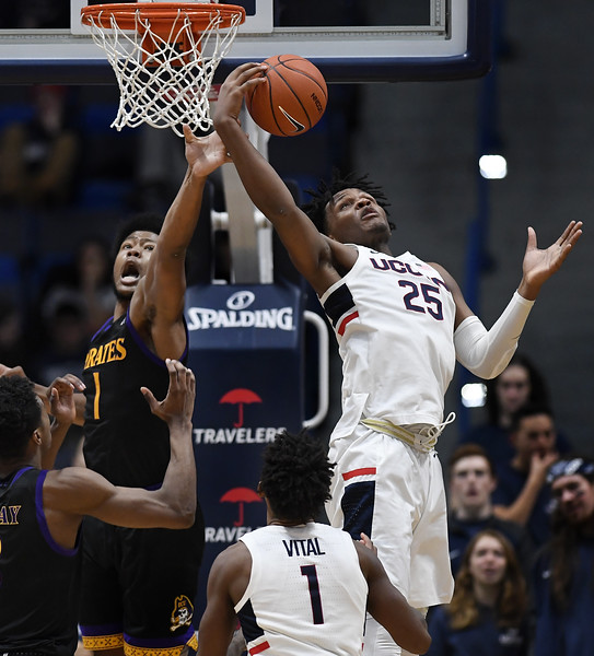 East Carolina UConn Basketball