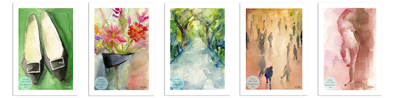 Unframed prints by Beverly Brown - www.beverlybrown.com