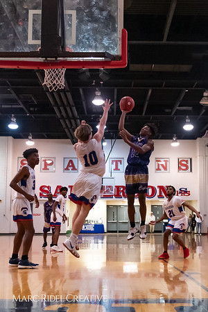 Broughton boys varsity basketball vs Sanderson. February 12, 2019. 750_6291