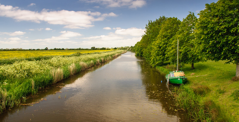 Royal Military Canal on Romney Marsh