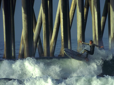 6/1/20 * DAILY SURFING PHOTOS * H.B. PIER