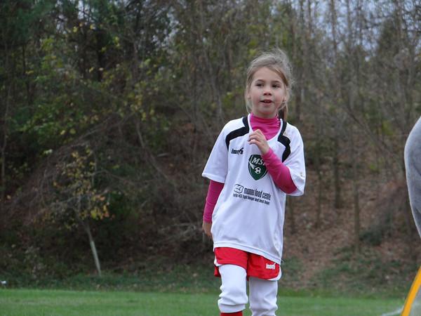 Soccer (Npvember)  - Last Game for Both