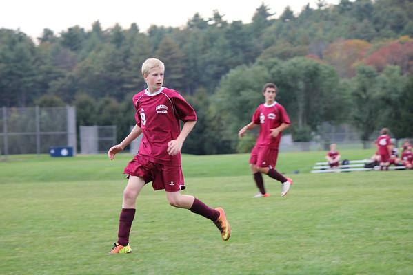 Freshmen soccer vs Avon 10_4_13