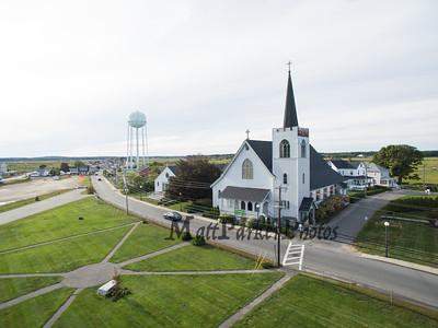 2018-9-22 St. Patrick's Catholic Church Aerial View