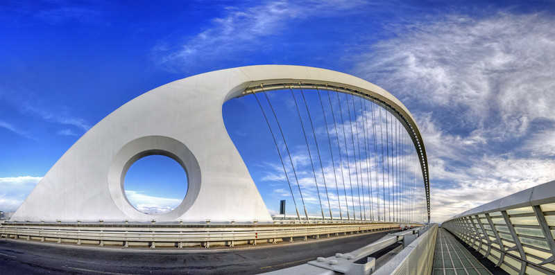 Vele di Calatrava, Central Bridge - Reggio Emilia, Italy - March 27, 2010