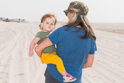 Hailey and Bonnie Beach Days 9-24-20