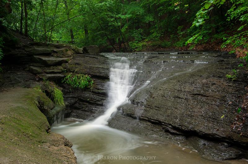 Lower Falls at Fall Run Park 9932