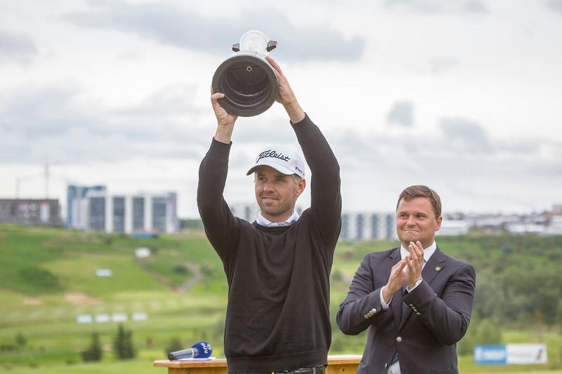Íslandsmótið í höggleik. Golf, sumar 2014, GKG, Leirdalsvöllur. Birgir Leifur Hafþórsson Íslandsmót