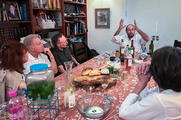 2019-05-01 Dinner at Rabbi's home