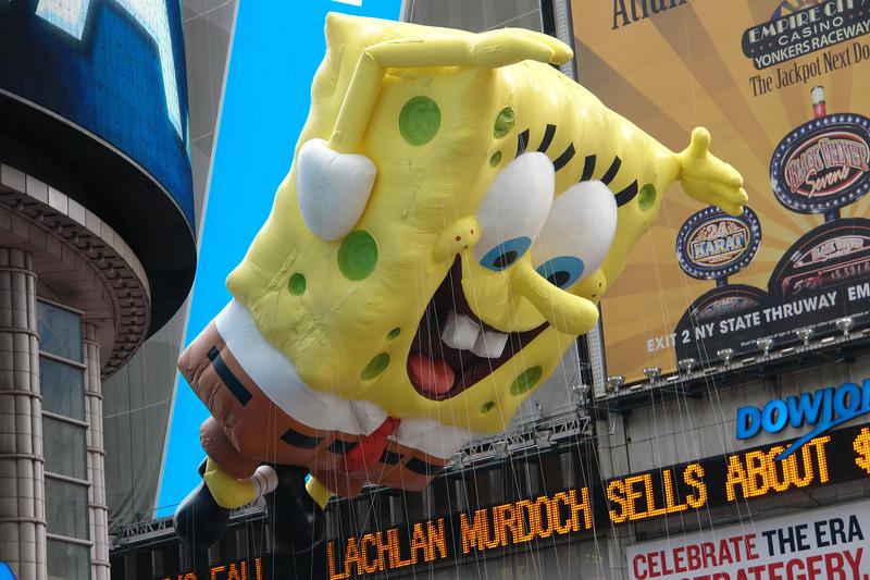 SPONGEBOB SquarePants Macy's Thanksgiving Parade 2009 in Manhattan