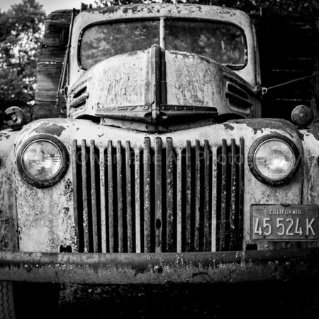 Antique Ford Truck, Napa Valley, California