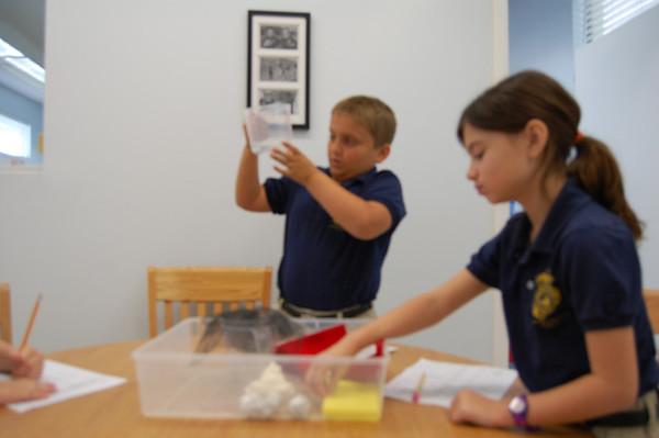 3rd grade Engineering a Model Membrane 2011