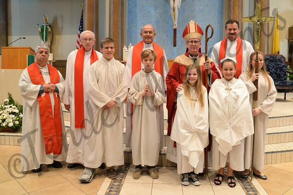 Blessed Trinity Confirmation 2015
