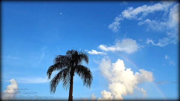 The Skies....Clouds,Sunrises,Sunsets,Moons,Lightning,rainbows,rain