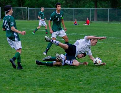 Game Set eight: Vashon Island High School Boys Varsity Soccer v Charles Wright - Nisqually League Championship