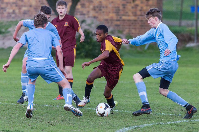 PRG Soccer vs. Eton College (UK)